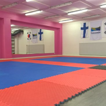 Jyväskylän Taekwondo-sali täyttää 2 vuotta