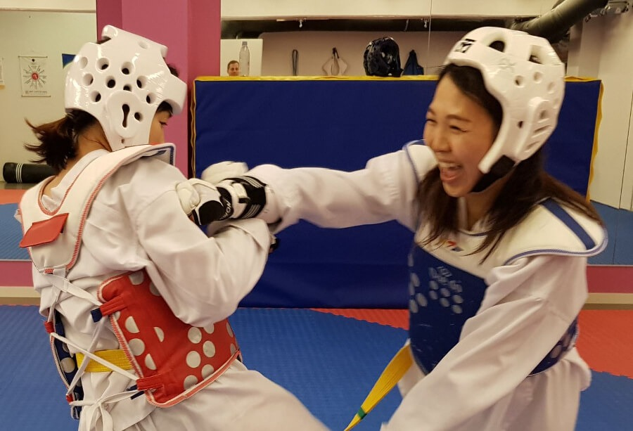 Taekwondo harjoitukset aikuisille