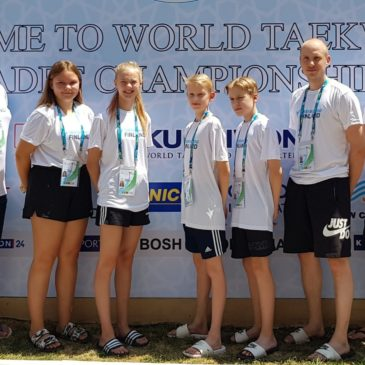 Kadettien MM-kilpailut Uzbekistanissa 7.-10.8.